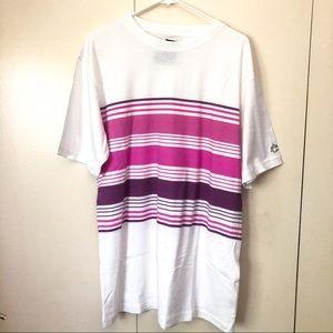 NWT Stussy Mens T Shirt Large Short Sleeve White